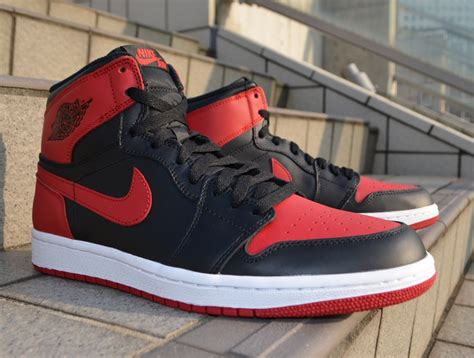 Nike Air Retro 1 Bred Banned Sepatu Sneakers Fashion Adidas Air 1 Retro High Og Quot Bred Quot Sneakernews