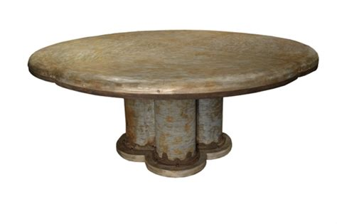 Galvanized Dining Table Product Details Galvanized Dining Table