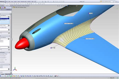 solidworks tutorial aircraft tutorial how to connect wing with fuselage in a wwii type