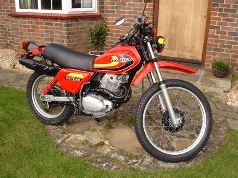 Honda Motorrad Xl 500 by Restored Honda Xl500s 1981 Photographs At Classic Bikes