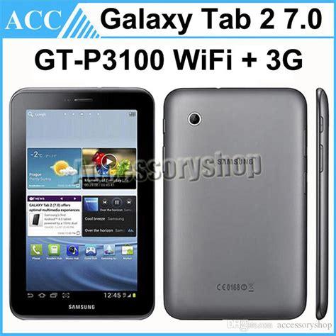 Samsung Tab 2 Original 2017 refurbished original samsung galaxy tab 2 7 0 gt p3100 p3100 8gb wifi 3g android phone