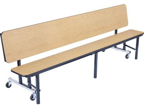 convertible table bench convertible bench cafeteria table plywood protectedge 8