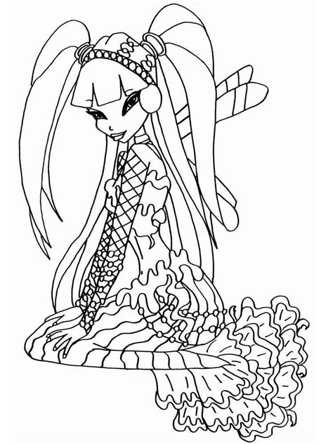 winx mermaids coloring pages winx mermaid coloring pages free printable winx mermaid