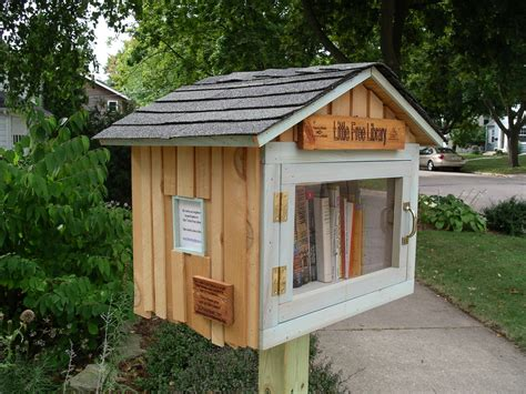 tiny library little free library on pinterest little free libraries