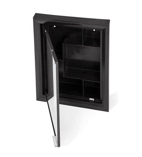 black bathroom mirror cabinet nilkamal gem mirror cabinet black by nilkamal online