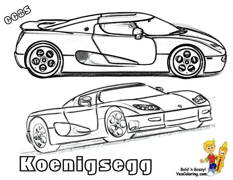 free coloring pages of ccxr konigsegg