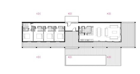 holiday house floor plans gallery of bellecombe holiday house acau 19