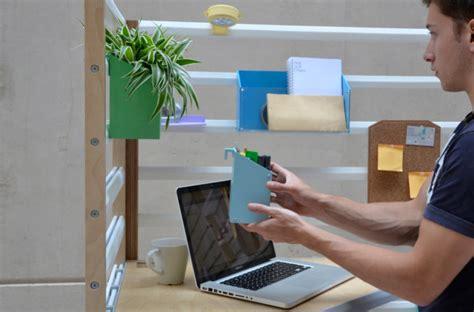 an adjustable workspace for the home or office design milk