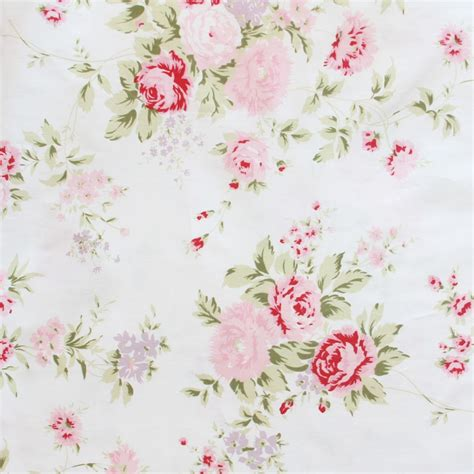 shabby chic wildflower fabric shabby chic fabric shabby