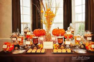 Fall Buffet Table Decorations Fall Themed Buffet Our Wedding