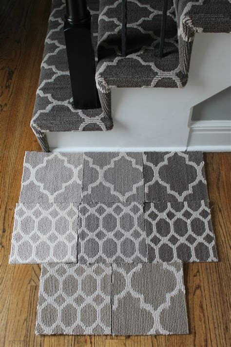 grey patterned stair carpet 25 best ideas about patterned carpet on pinterest