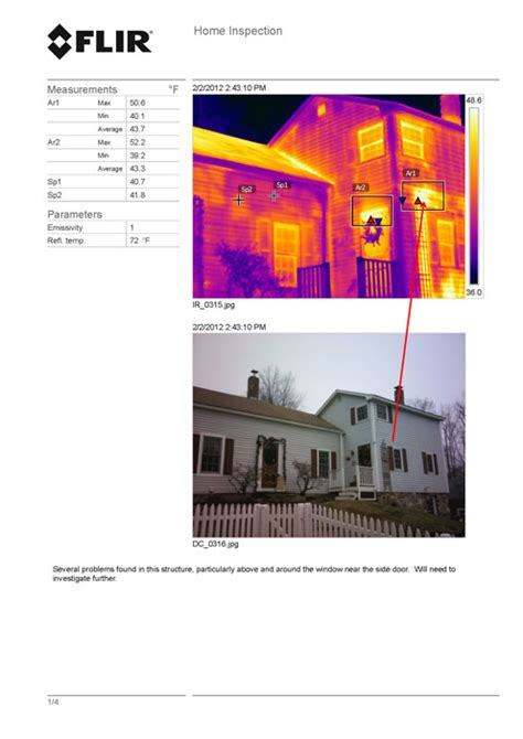thermal imaging report template flir t640bx thermal imager tequipment net