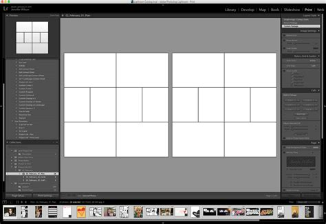 adobe lightroom templates hybrid project album process simple scrapper