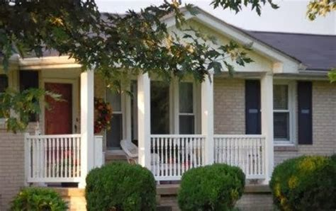 front porch designs for ranch style homes front porch ideas for ranch style homes