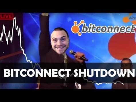 Bitconnect Getting Shut Down   bitconnect gets shut down what to do while crypto is