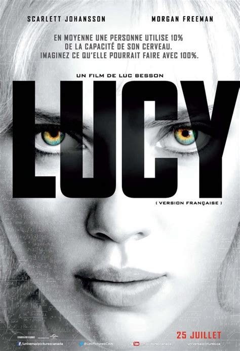 film lucy affiche le film lucy v f