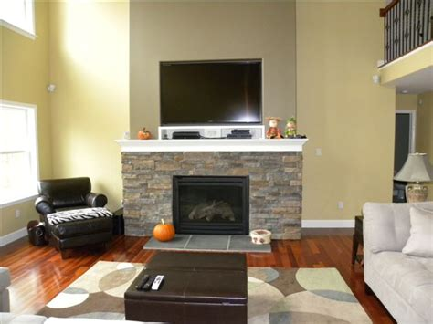 Mounting A Flat Screen Tv Above A Fireplace by Enlarge Your Family Room With A Wall Mount Television