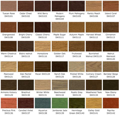 stained wood colors deck wood stain colors olympic solid wood stain colors
