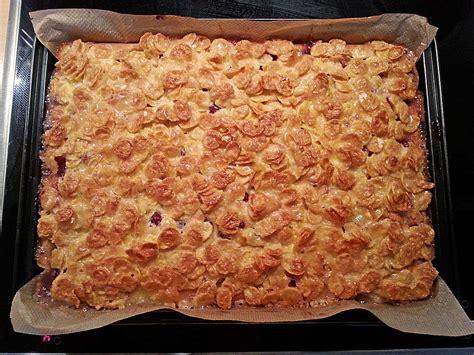 rezept cornflakes kuchen kirsch cornflakes kuchen rezept mit bild cool bee