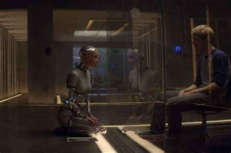 ava artificial intelligence watch ex machina first trailer sci fi thriller starring domhnall gleeson hints at artificial
