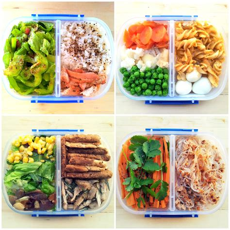 Lunch Box Type 578 Tempat Makan 4 Sekat Kotak Makan Yooyee how to pack a healthy lunch for work huffpost