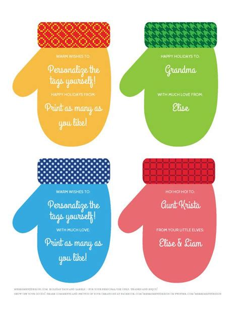 printable christmas tags you can type on 17 best images about printables on pinterest gift