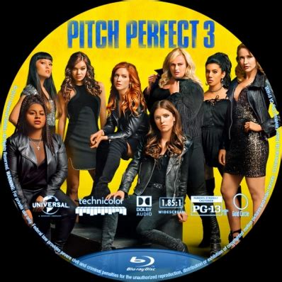 cinemaxx pitch perfect 3 pitch perfect 3 dvd covers labels by covercity