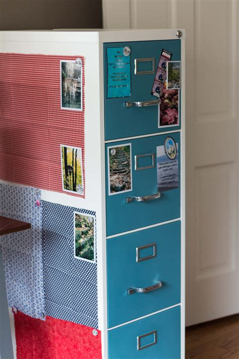 how to paint a metal file cabinet how to paint and makeover a metal file cabinet rose