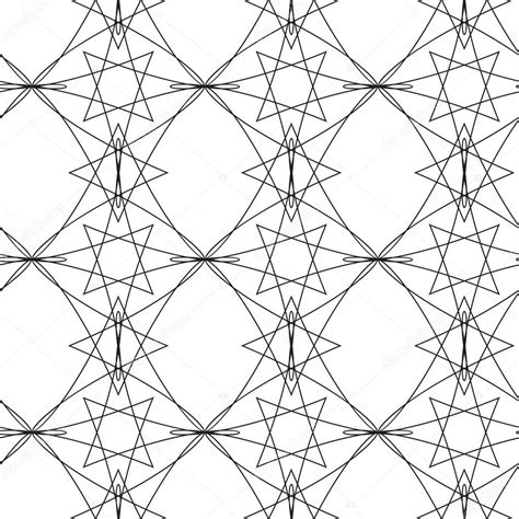 seamless pattern monochrome monochrome elegant seamless pattern stock vector
