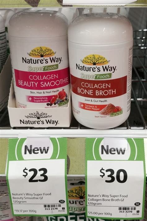 Nature S Way Collagen Powder 120g 1 new on the shelf at coles 5th may 2018 new products australia