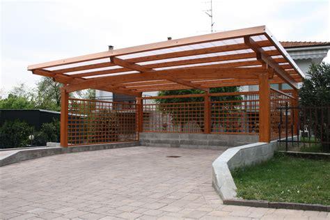 tettoie in legno e policarbonato preventivo tettoia legno habitissimo