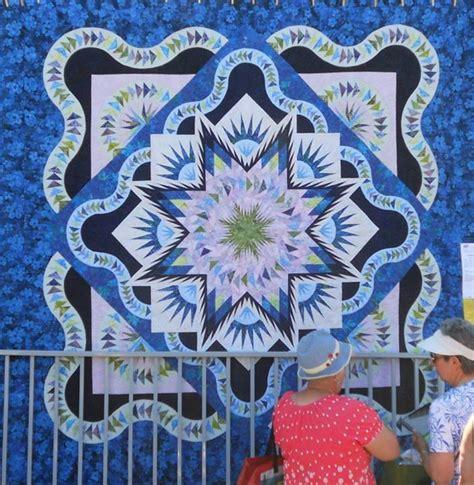 Glacier Quilt Pattern by Glacier Quiltworx Outdoor Quilt Show