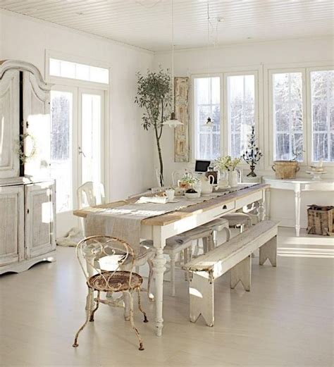 Table Chene Blanchi 504 by Les 25 Meilleures Id 233 Es Concernant Salle 192 Manger Shabby
