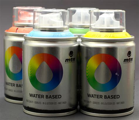 spray paint on water spray graffiti paints for artists supplies