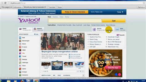 cara membuat email di yahoo youtube cara membuat email di yahoo terbaru 2013 youtube