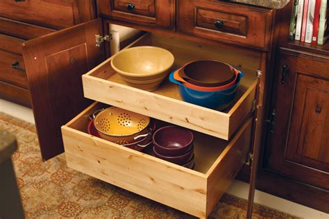 roll out drawers for kitchen cabinets cardinal kitchens baths storage solutions 101 roll
