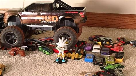 toy monster truck videos toy monster truck madness youtube