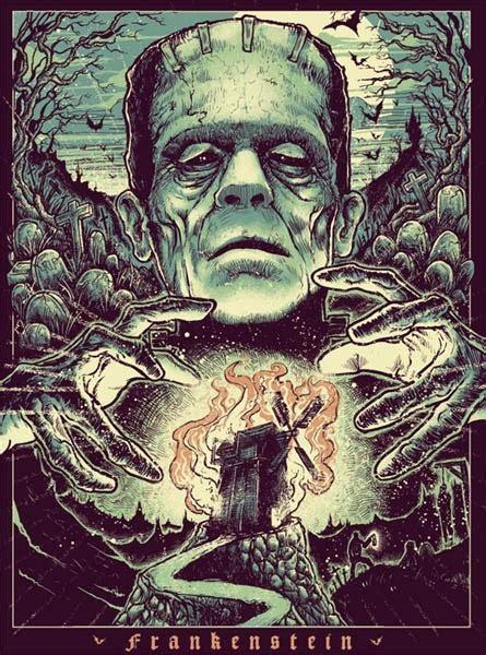libro the art of horror frankenstein s creature