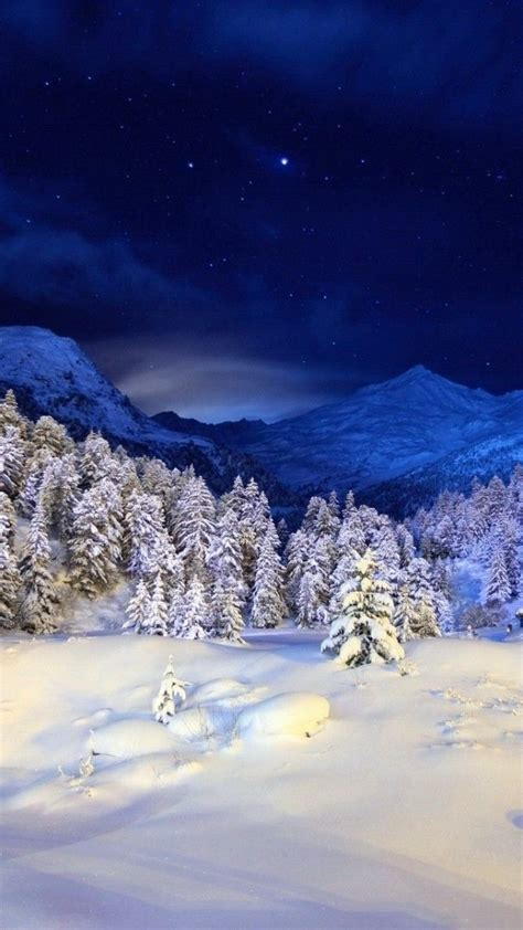 wallpaper android winter winter snow forest 3d android smartphone wallpaper