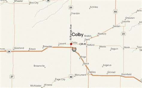 colby texas map colby kansas location guide