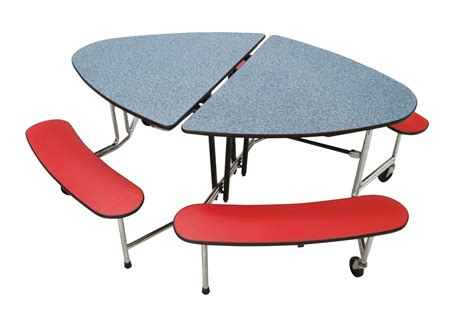 cafeteria bench mitchell furniture cafeteria table with benches curved x