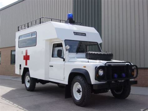 land rover defender ambulance for sale specification land rover defender 127 ambulance ex