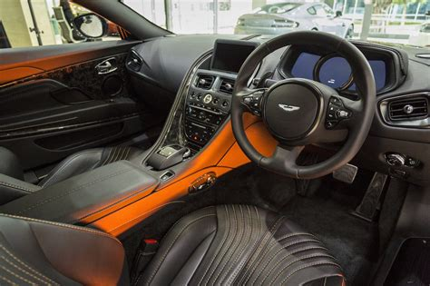 aston martin db11 interior aston martin db11 lands in australia priced from 428 032