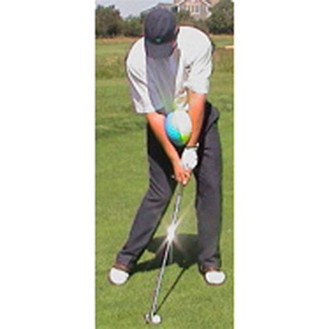 impact swing trainer impact ball golf swing training aid mens large new ebay