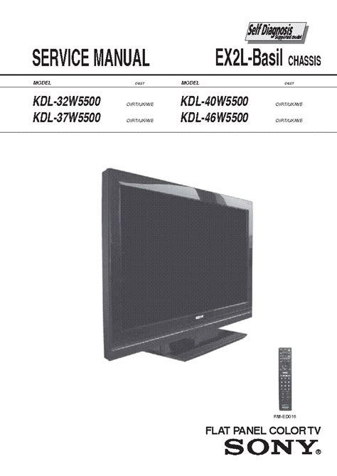 sony kdf46e2000 l replacement sony kdl v40a11e lcd tv service repair manual