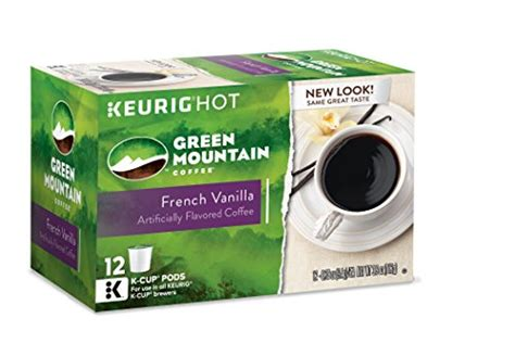 Detox Coffee K Cup by Green Mountain Coffee Vanilla Keurig K Cups 72