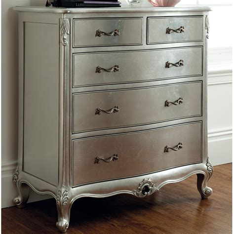 rococo silver leaf chest of drawers winsor furniture