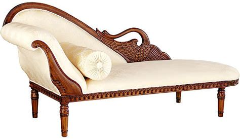 swan fainting couch hand carved swan sofas handmade mahogany 3 seater