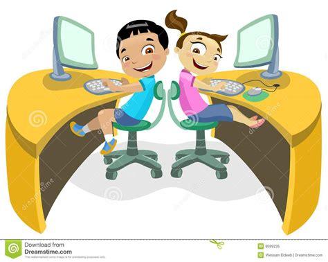 imagenes de niños usando la tecnologia ni 241 os y tecnolog 237 a 2 ilustraci 243 n del vector imagen de