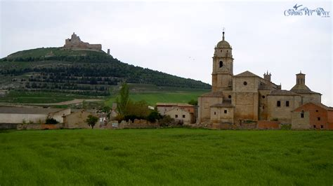Lovely Journeys Church #1: Church-and-Castle-Castrojeriz-Spain-Camino-de-Santiago.jpg